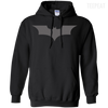 CustomCat Apparel Pullover Hoodie 8 oz / Black / Small Dark Knight