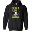 CustomCat Apparel Pullover Hoodie 8 oz / Black / Small DBZ - Vegeta's Throne Tee