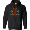 CustomCat Apparel Pullover Hoodie 8 oz / Black / Small Deadpool Pulse Dark Tee