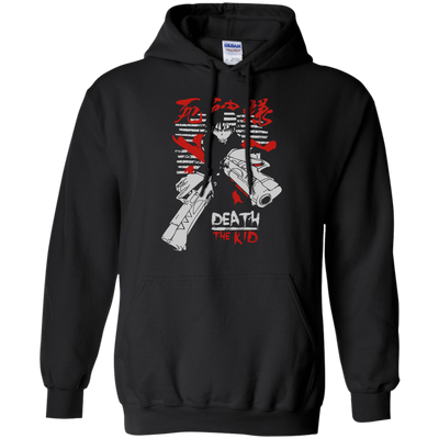 CustomCat Apparel Pullover Hoodie 8 oz / Black / Small Death the Kid Tee V2