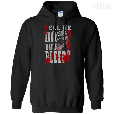 CustomCat Apparel Pullover Hoodie 8 oz / Black / Small Do You Bleed Tee