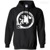 CustomCat Apparel Pullover Hoodie 8 oz / Black / Small Dota 2 Flying Courier Tee