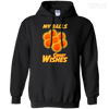 CustomCat Apparel Pullover Hoodie 8 oz / Black / Small Dragon Ball Z Grant Wishes Tee