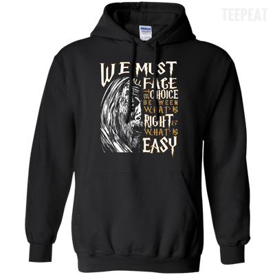 CustomCat Apparel Pullover Hoodie 8 oz / Black / Small Dumbledore Tee