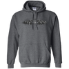 CustomCat Apparel Pullover Hoodie 8 oz / Dark Heather / Small Bat Pulse Tee