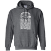 CustomCat Apparel Pullover Hoodie 8 oz / Dark Heather / Small Brotherhood Tee