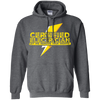 CustomCat Apparel Pullover Hoodie 8 oz / Dark Heather / Small Certified Electrician Tee