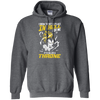 CustomCat Apparel Pullover Hoodie 8 oz / Dark Heather / Small DBZ - Vegeta's Throne Tee