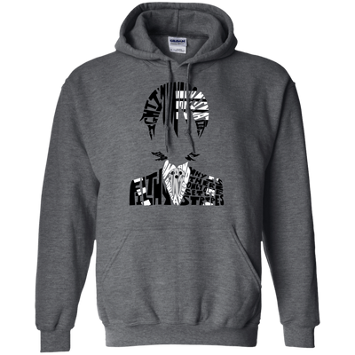 CustomCat Apparel Pullover Hoodie 8 oz / Dark Heather / Small Death the Kid Tee
