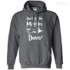 CustomCat Apparel Pullover Hoodie 8 oz / Dark Heather / Small Don't Let The Muggles Get You Down Tee
