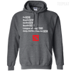 CustomCat Apparel Pullover Hoodie 8 oz / Dark Heather / Small Dota 2 END Tee