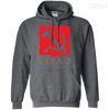 CustomCat Apparel Pullover Hoodie 8 oz / Dark Heather / Small Dota 2 Soviet Cyka Tee