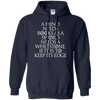 CustomCat Apparel Pullover Hoodie 8 oz / Navy / Small A Mind Needs Books Tee