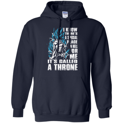 CustomCat Apparel Pullover Hoodie 8 oz / Navy / Small A Throne Tee