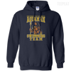 CustomCat Apparel Pullover Hoodie 8 oz / Navy / Small Aquaman Swimming Team Tee