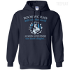 CustomCat Apparel Pullover Hoodie 8 oz / Navy / Small Bookworms Will Rule The World Tee