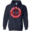 CustomCat Apparel Pullover Hoodie 8 oz / Navy / Small Chimichanga Tee