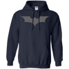 CustomCat Apparel Pullover Hoodie 8 oz / Navy / Small Dark Knight