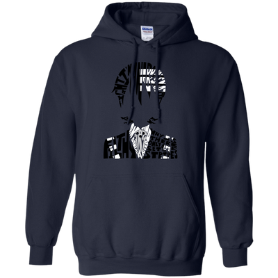 CustomCat Apparel Pullover Hoodie 8 oz / Navy / Small Death the Kid Tee