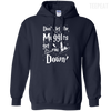 CustomCat Apparel Pullover Hoodie 8 oz / Navy / Small Don't Let The Muggles Get You Down Tee