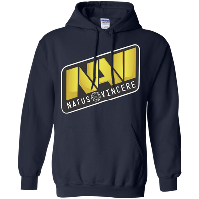 CustomCat Apparel Pullover Hoodie 8 oz / Navy / Small Dota 2 Na`Vi Tee
