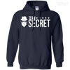 CustomCat Apparel Pullover Hoodie 8 oz / Navy / Small Dota 2 Team Secret Tee V2