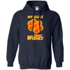 CustomCat Apparel Pullover Hoodie 8 oz / Navy / Small Dragon Ball Z Grant Wishes Tee