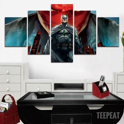 DF Canvas Batman - Red Hood - 5 Piece Canvas Painting LIMITED EDITION