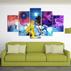 Uchiha VS Uzumaki - 5 Piece Canvas Painting-Canvas-TEEPEAT