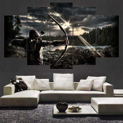 Empire Prints Canvas Assassins Creed Star 5 Piece Painting