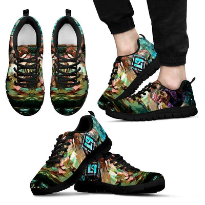Empire Prints Shoes Men's Sneakers / Black / US5 (EU38) Men Crawling In My Skin Sneakers