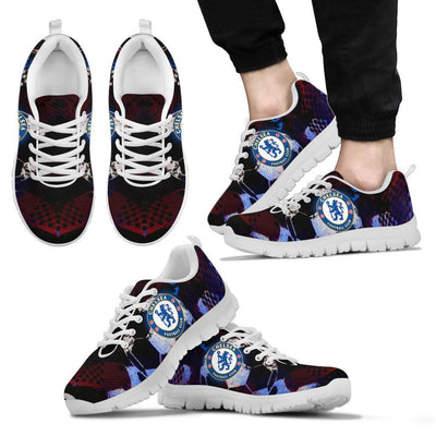 Empire Prints Shoes Men's Sneakers / White / US5 (EU38) Chelsea Football Club Sneakers
