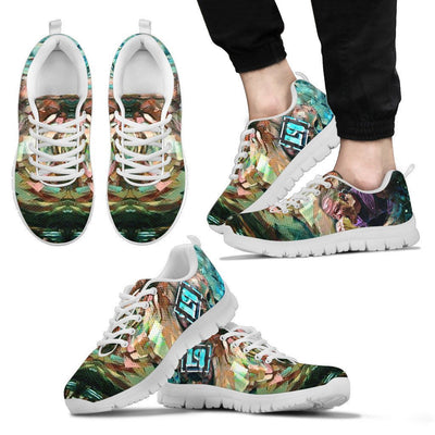 Empire Prints Shoes Men's Sneakers / White / US5 (EU38) Men Crawling In My Skin Sneakers