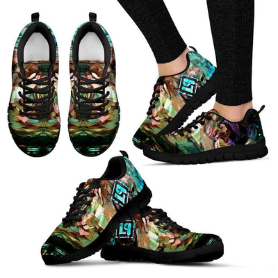 Empire Prints Shoes Women's Sneakers / Black / US5 (EU35) Women Crawling In My Skin Sneakers