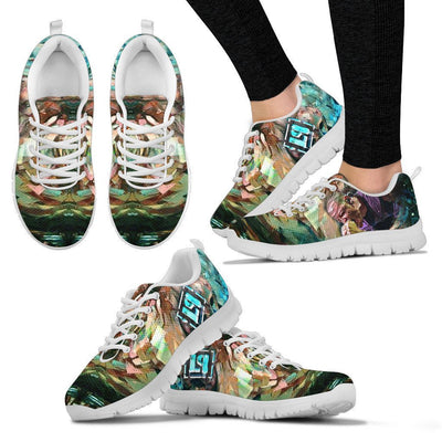 Empire Prints Shoes Women's Sneakers / White / US5 (EU35) Women Crawling In My Skin Sneakers