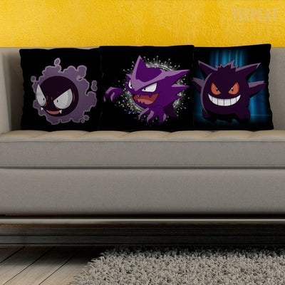 Ghastly Transformation Pillows-Pillows-TEEPEAT