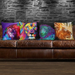 Lion Pillows