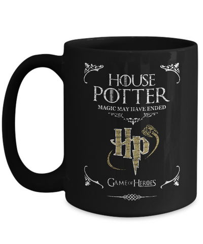 House of Potter Mug-Coffee Mug-TEEPEAT