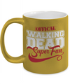 Walking Dead Super Fan Metallic Mug-Coffee Mug-TEEPEAT
