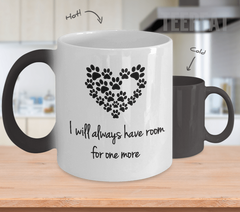 I Will Always Have Room Color Changing Mug