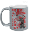 I Will Kill You Metallic Mug