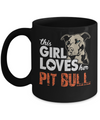 This Girl Loves Her Pit Bull Mug-Coffee Mug-TEEPEAT