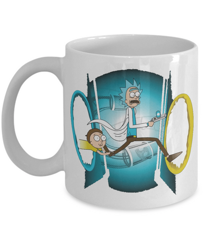 Rick and Morty Time Machine Mug
