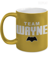 Team Wayne Metallic Mug