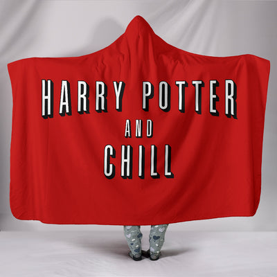 Harry Potter and Chill Hooded Blanket