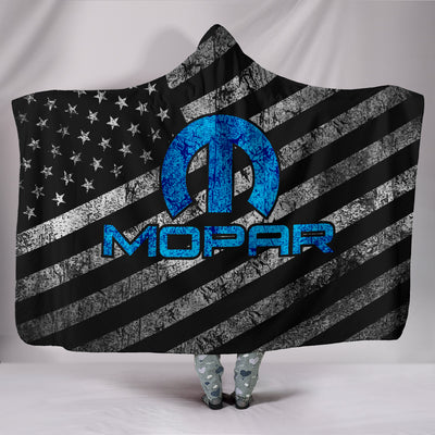 Mopar Flag Hooded Blanket