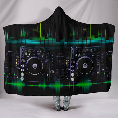 DJ Duvet Hooded Blanket