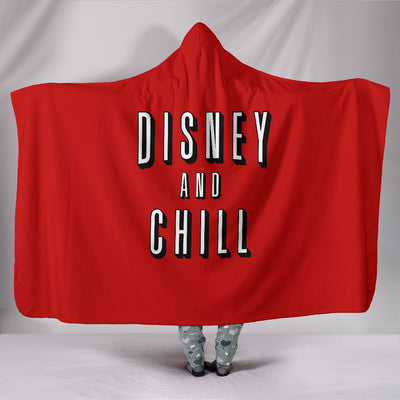 Disney and Chill Hooded Blanket