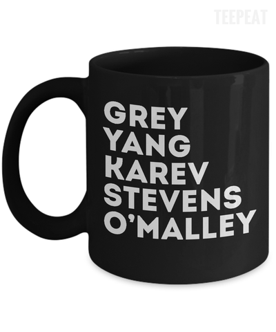 Gray's Characters Mug-Coffee Mug-TEEPEAT