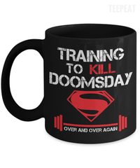 Training to Kill Doomsday Mug